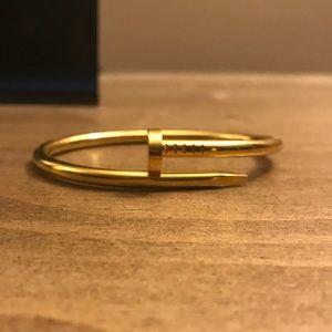 """Nailed It"" bracelet"